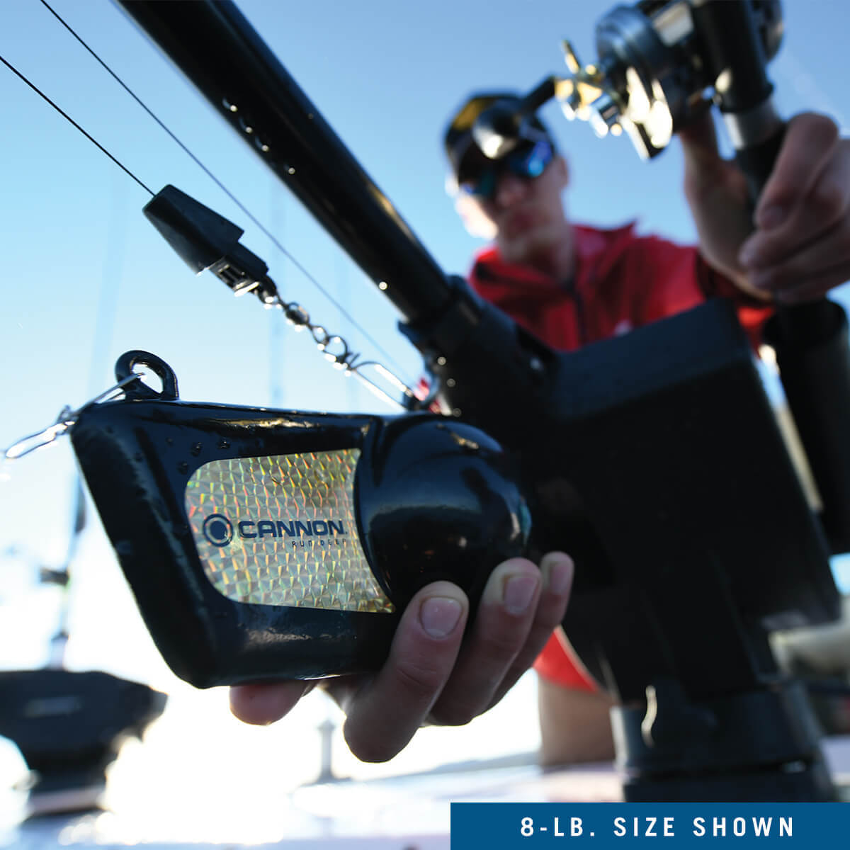 2295182 Cannon Downriggers 8 lb Flash Weight